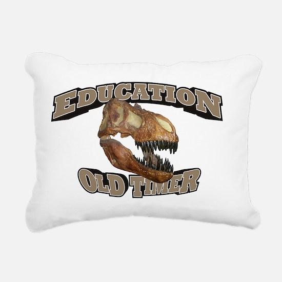 Old_Education_21x14_RK20 Rectangular Canvas Pillow