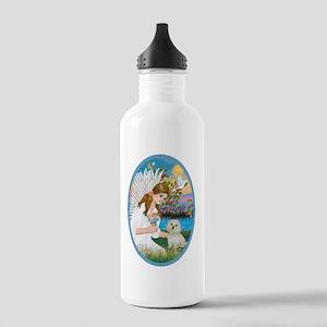 Angel Love - Maltese Stainless Water Bottle 1.0L