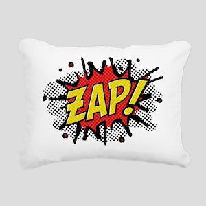 2-Zap Rectangular Canvas Pillow