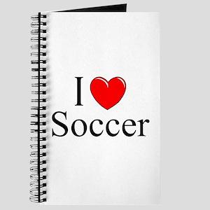"""""""I Love (Heart) Soccer"""" Journal"""