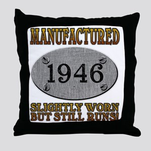 1946 Throw Pillow
