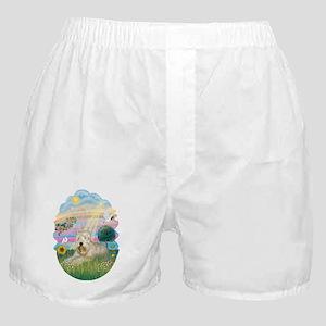 Angel Star - Wheaten Terrier #1 Boxer Shorts