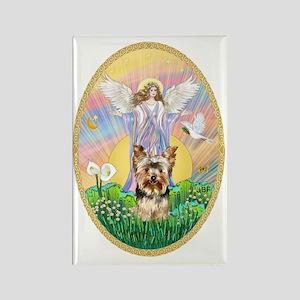 Blessing - Yorkshire Terrier #17 Rectangle Magnet