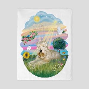 Angel Star - Wheaten Terrier #1 Twin Duvet