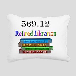 Retired Librarian 569.12 Rectangular Canvas Pillow