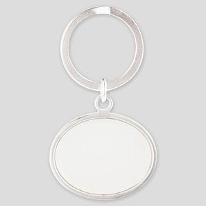 gop_pledge Oval Keychain