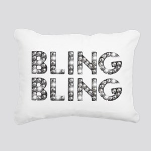 bling-bling-tee Rectangular Canvas Pillow