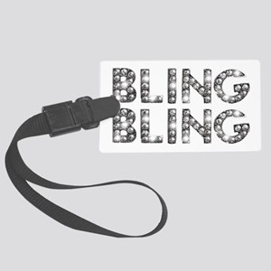 bling-bling-tee Large Luggage Tag