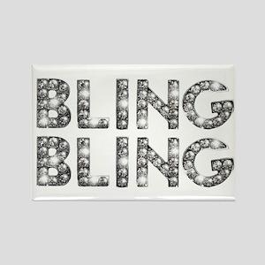 bling-bling-tee Rectangle Magnet