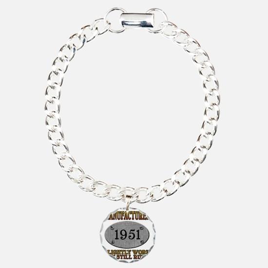 1951 Charm Bracelet, One Charm