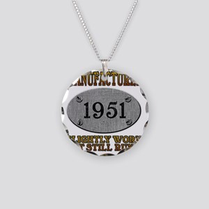 1951 Necklace Circle Charm