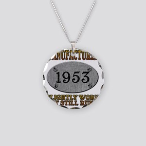 1953 Necklace Circle Charm