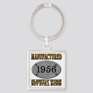 1956 Square Keychain