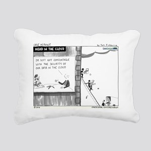 100510.cloud Rectangular Canvas Pillow
