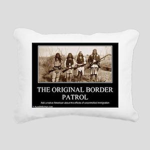 2-political-pictures-nat Rectangular Canvas Pillow