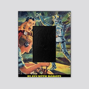 Plays With Robots Picture Frame