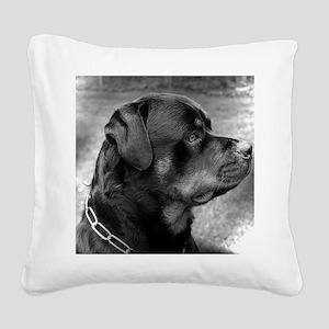 2-Mauser1 Square Canvas Pillow