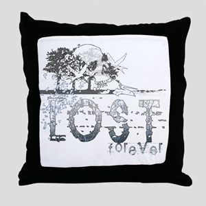 lost forever by twibaby Throw Pillow