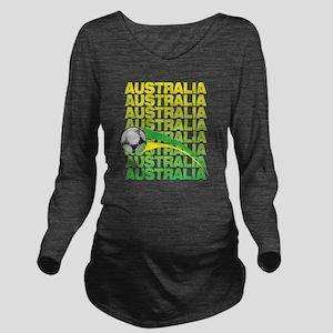 A_aus_1 Long Sleeve Maternity T-Shirt