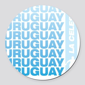 A_URU_2 Round Car Magnet