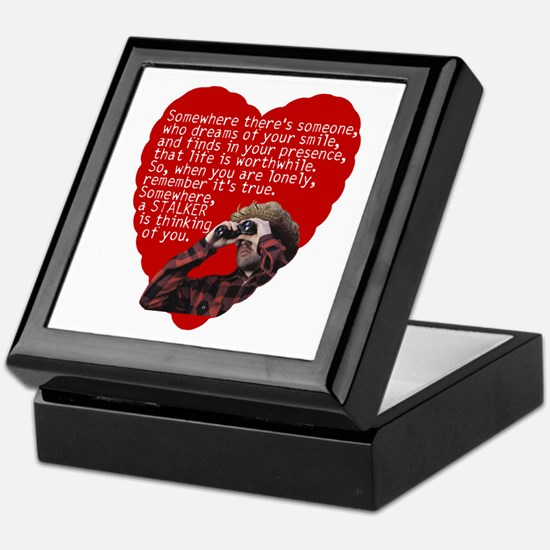 Stalker Anti-Valentine Keepsake Box