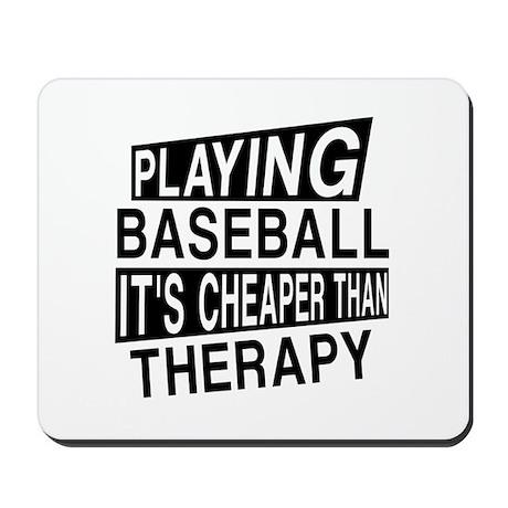 Awesome Baseball Player Designs Mousepad