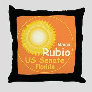 Rubio2 E Throw Pillow
