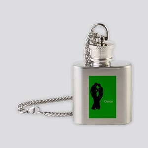 iDance_MiniPoster Flask Necklace