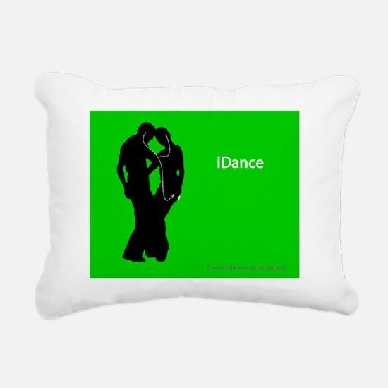 iDance_SmPoster Rectangular Canvas Pillow