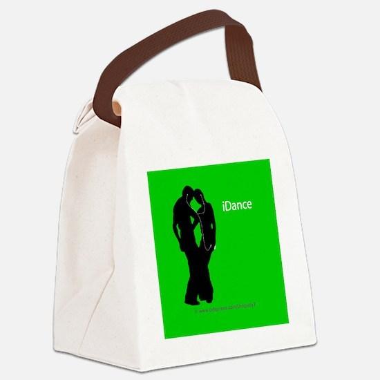 iDance_RoundClocks Canvas Lunch Bag