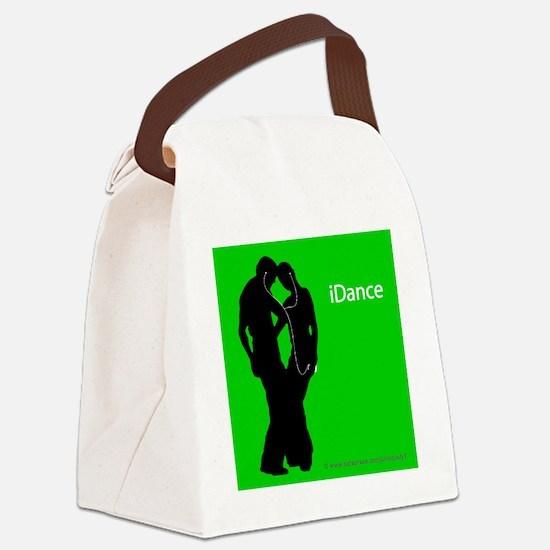 iDance_SquareTile Canvas Lunch Bag