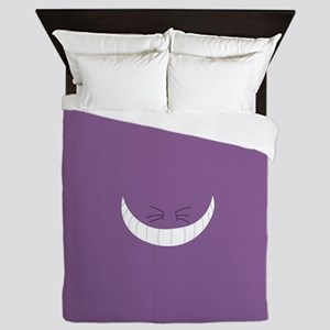 Minimalist Cheshire Cat Queen Duvet