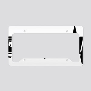 RCDQ noir License Plate Holder