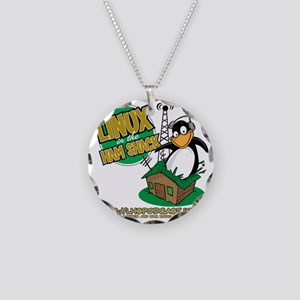 LHS Logo 1-Sided Necklace Circle Charm