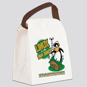 LHS Logo 1-Sided Canvas Lunch Bag