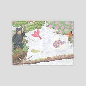 Sugar Maple Friends - The Adventure 5'x7'Area Rug