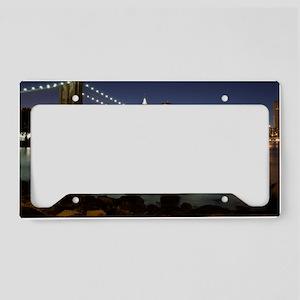 Brooklyn Bridge License Plate Holder