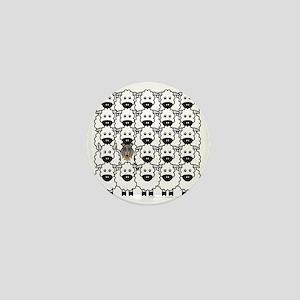bmCollieSheep Mini Button