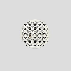 bmSmoothCollieSheep Mini Button