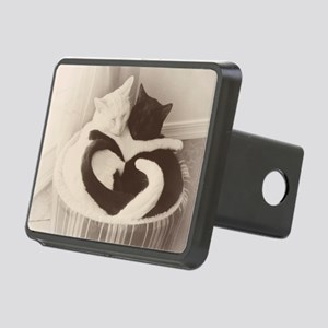 Love in Black and White (v Rectangular Hitch Cover