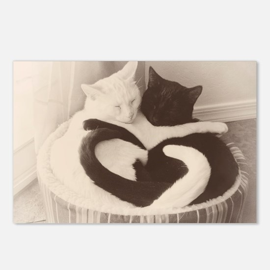 Love in Black and White ( Postcards (Package of 8)