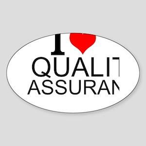 I Love Quality Assurance Sticker