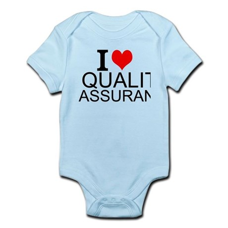 I Love Quality Assurance Body Suit