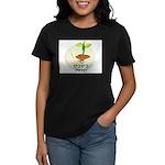 Hebrew Tu B'Shavat Women's Dark T-Shirt