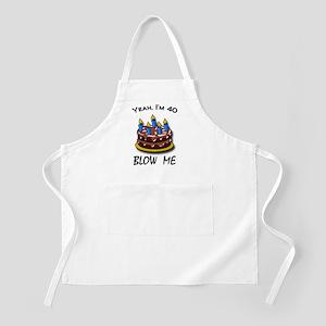 blowmeIm40 Apron