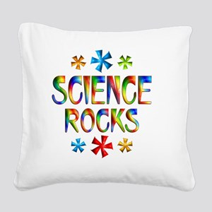 SCIENCE Square Canvas Pillow