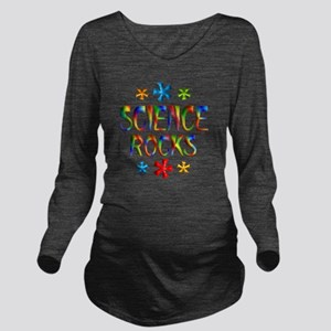 SCIENCE Long Sleeve Maternity T-Shirt