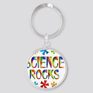 SCIENCE Round Keychain