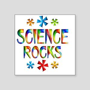 "SCIENCE Square Sticker 3"" x 3"""