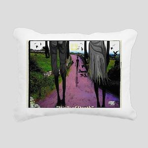 WALK OF DEATH tee shirt Rectangular Canvas Pillow